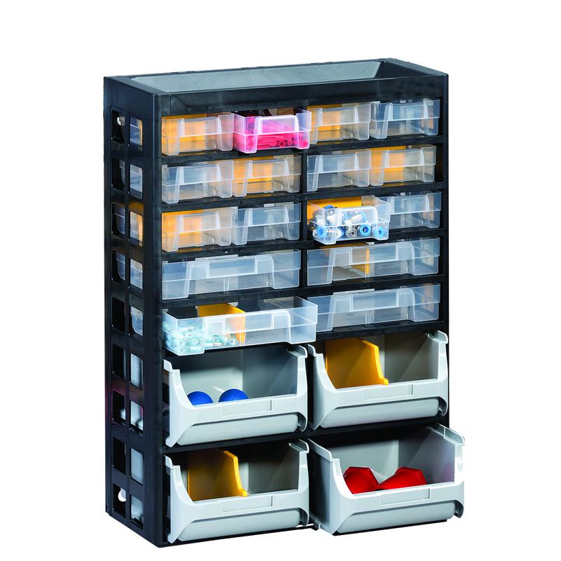 Plastic Multi Drawer Small Parts Storage Ese Direct