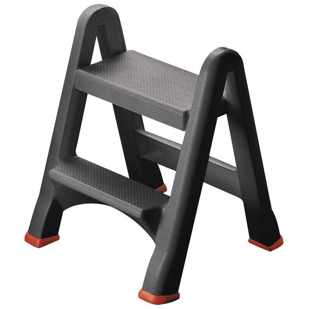 Polypropylene Two Step Safety Stool With Fast Uk Deliver