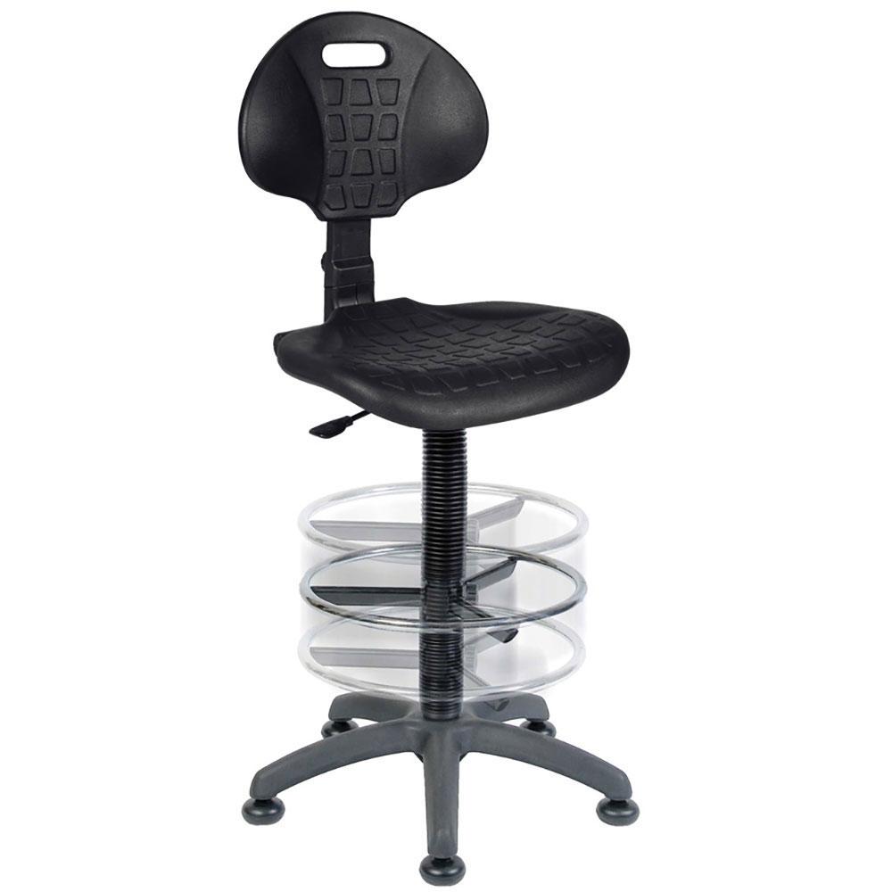 Polyurethane Industrial High Operator Chair Ese Direct