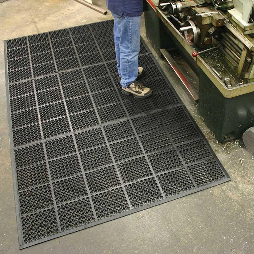 Industrial Floor Mats: Rubber High Duty Floor Mats