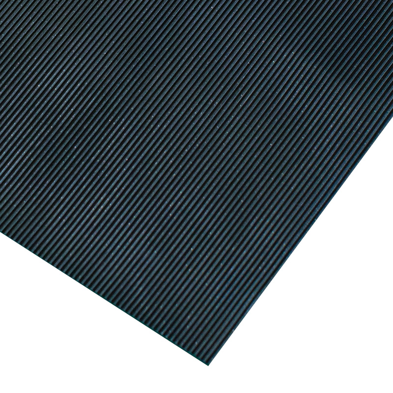 Ribbed Rubber Electrical Safety Matting 6mm Thick 10m