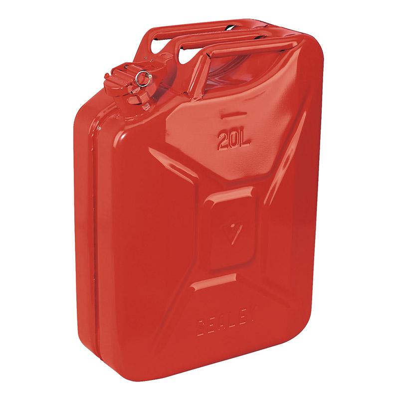 Sealey 20 Litre Steel Jerry Cans Ese Direct