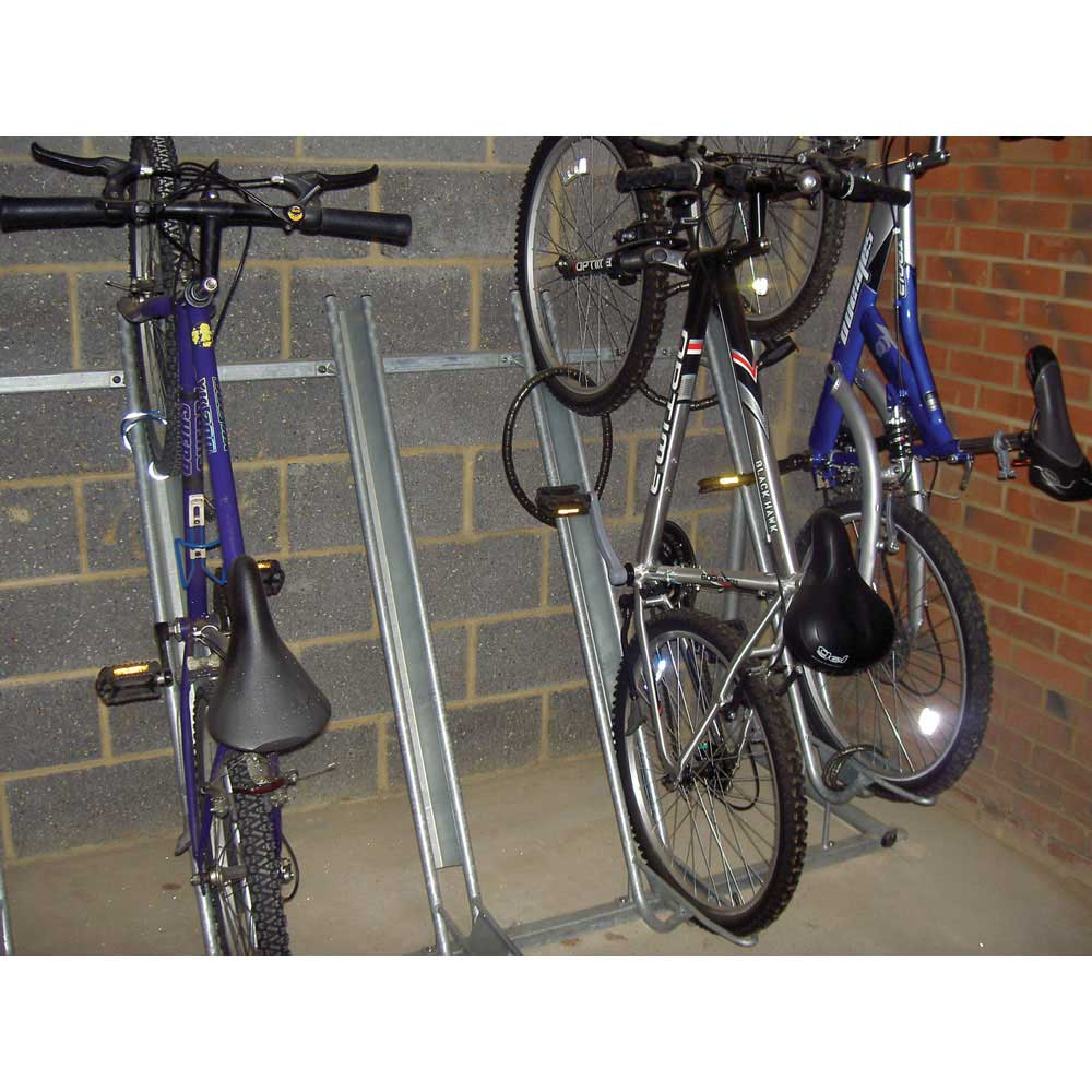 rack spiral racks parking street furphy bicycle bike item foundry the projects