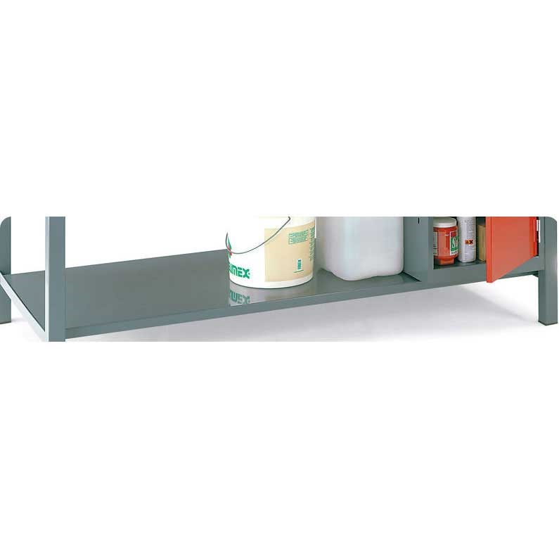 Steel Lower Shelf for Engineers Workbenches