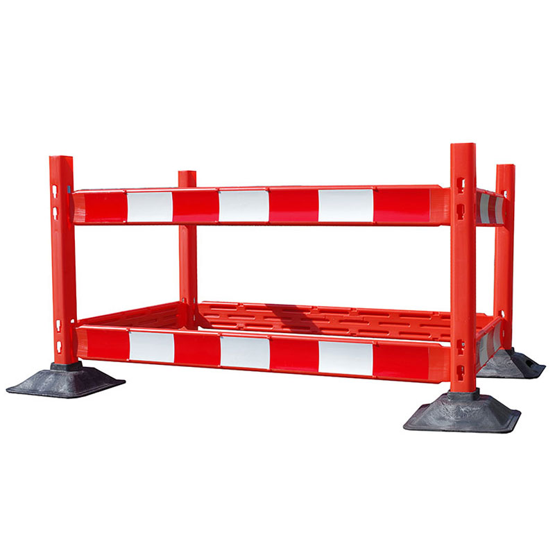 Traffic line temporary barrier systems