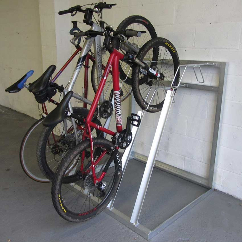 & Vertical Bike Storage Racks