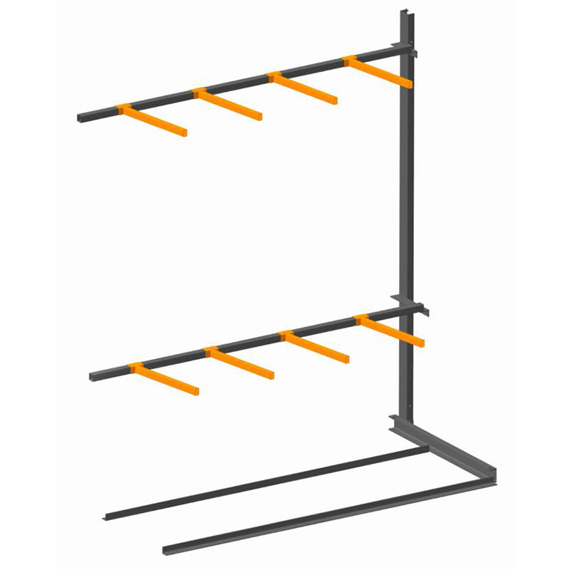 Vertical Storage Rack Single Sided Extension Bay Ese Direct