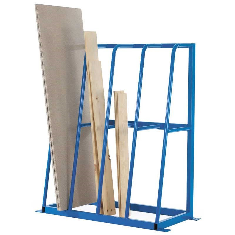 Vertical storage racks with 4 to 8 compartments ese direct for Vertical lumber storage rack