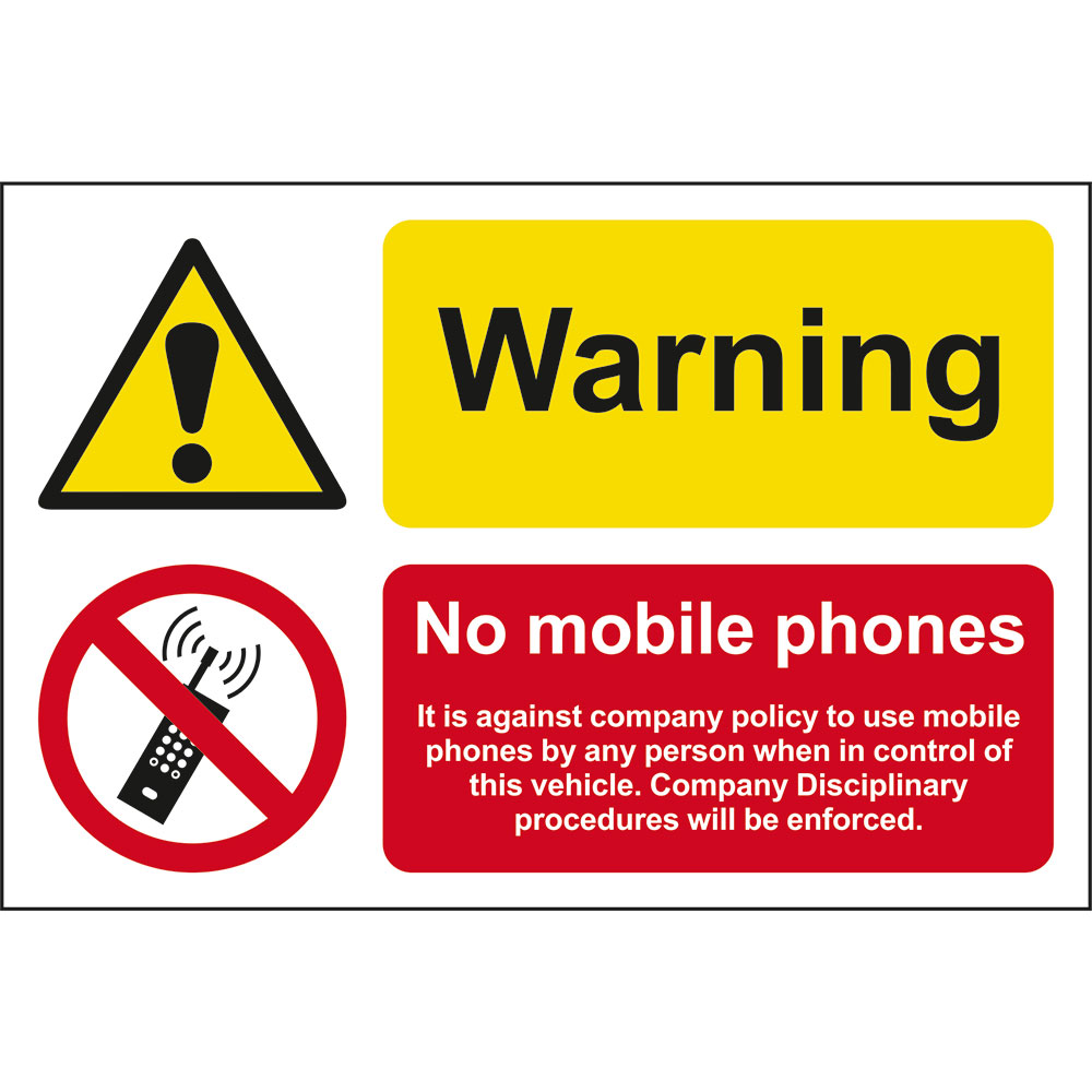 Uk Company: A Great Selection Of Warning, No Mobile Phones
