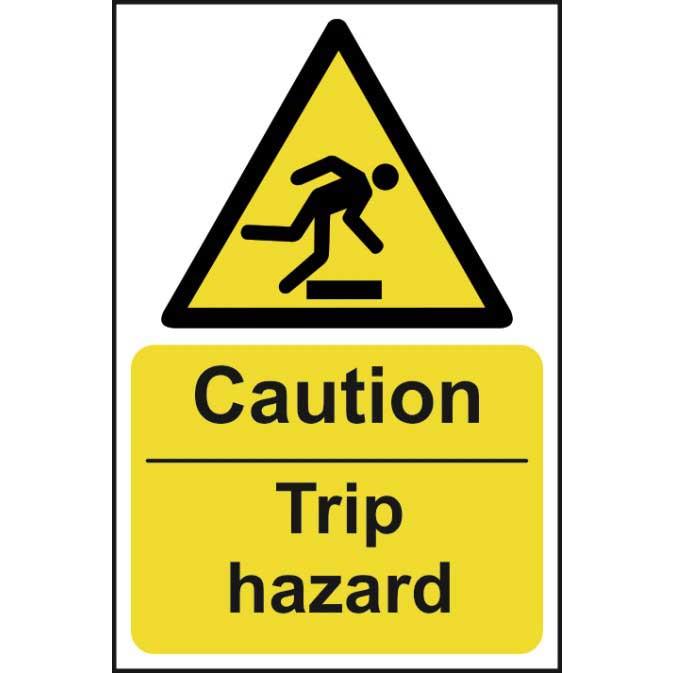 warning trip hazard sign ese direct
