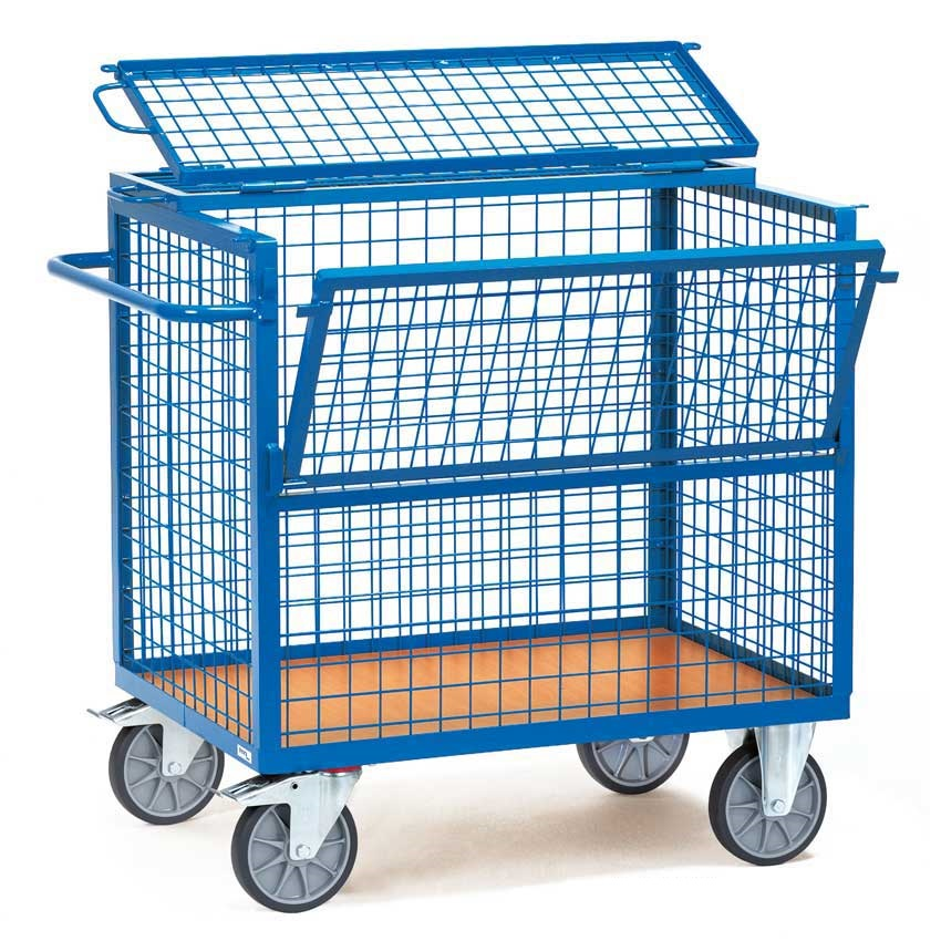 Wire Mesh Box Trucks / Trolleys / Hand Carts