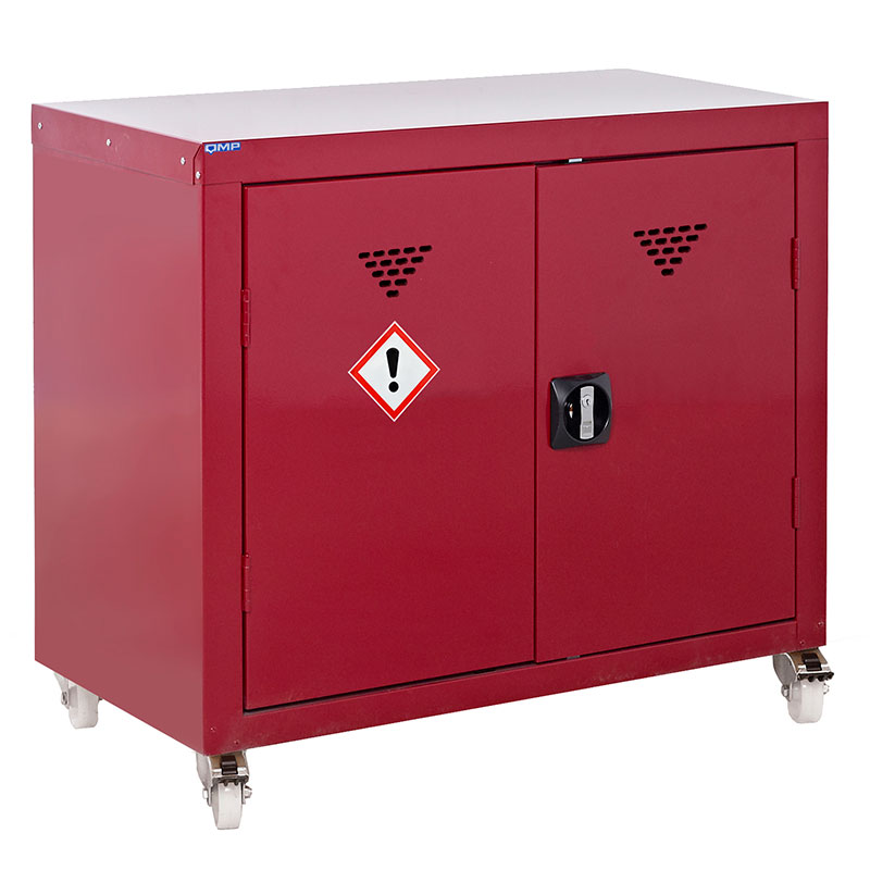 Mobile Pesticide & Agrochemical Storage Cupboard