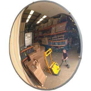 Internal Convex Polycarbonate Mirrors