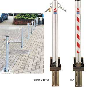 Removable Posts for parking or pedestrian areas