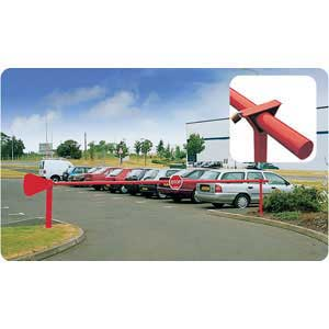 Panther Manual Rising Barriers for car parks / access roads