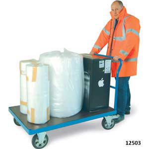 H/D Platform Trolleys One Open End 1200kg capacity