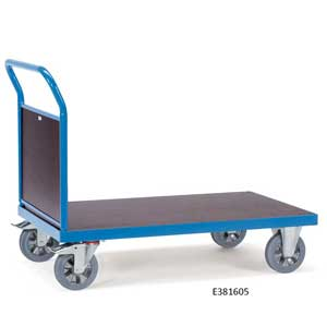 H/D Platform Trolleys One Panel End 1200kg capacity