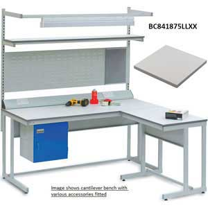 BC Cantilever Workbench with ESD Lamstat Worktop