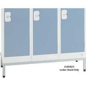 Steel locker stand for Standard Lockers