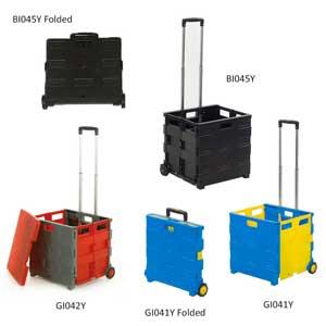 Pack n Roll Folding Trolley Cart