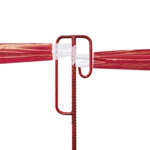 Metal Poles / Stands for Hazard Barrier Tape