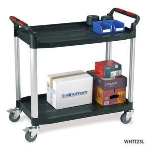 WHTT2SL 2 Shelf Large Trolley