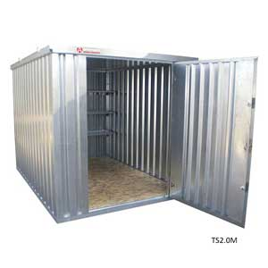 secure metal storage walk in containers outdoor storage units ese