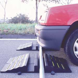 TRAFFIC-LINE Sectional Hose / Cable Protection Ramp with open top