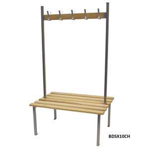 Classic Duo Cloakroom Bench Seat