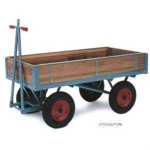 H/D Platform Truck, Fixed Ends & Slide in Sides 1000kg Capacity