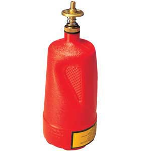 Justrite Plunger Cans For Flammable Liquids Safety