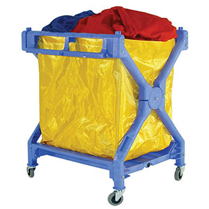 Folding Laundry Trolley & PVC Bag