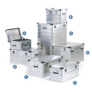 Bott Heavy Duty Aluminium Transit Containers shower proof