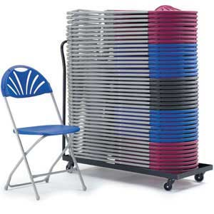 Lay Flat Storage Trolley for 40x 2000 Series Chairs