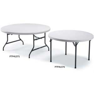 Polyfold Lightweight Folding Circular Table