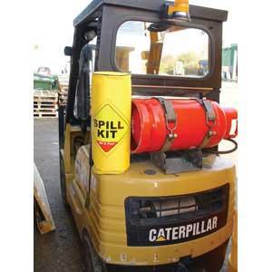 Spill Kit on Forklift