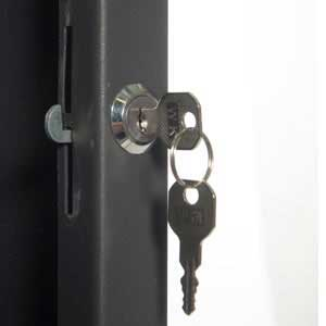 Lock Fitted To Cabinets
