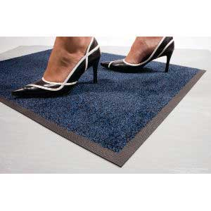 Black / Blue Coba-Wash Entrance Mat