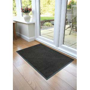 Black / Brown Coba-Wash Entrance Mat