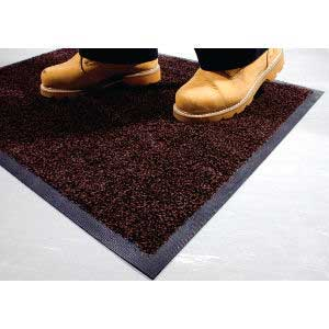 Red / Black Coba-Wash Entrance Mat
