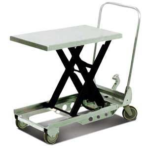 SC-150-SM-ALU - Aluminium Scissor Table