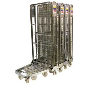 Stackable 2 Side Roll Cages