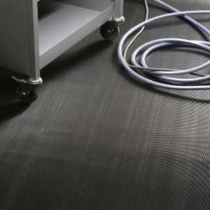 Electrical Safety Matting In Use