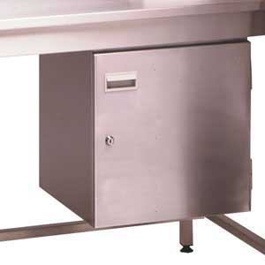 BRCUPBRDXXXX Stainless Steel Cupboard
