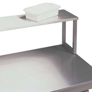 Single Stainless Steel Upper Shelf