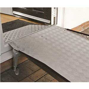 Permaramp adjustable PA15 with DW6 doorline wedge ramp