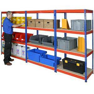 Heavy Rivet Shelving Bays