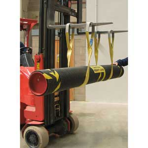 LS3002 Supporting weight on forklift
