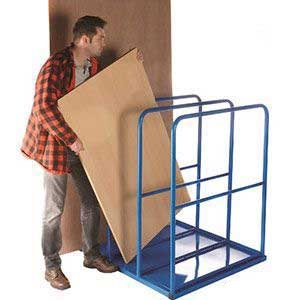 GVR20 - 3 compartment large vertical sheet rack