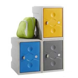 Low Height Standard Duty Plastic Locker